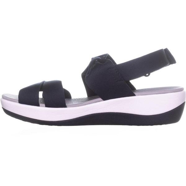 Clarks Arla Mae Bow Sandals, Blue