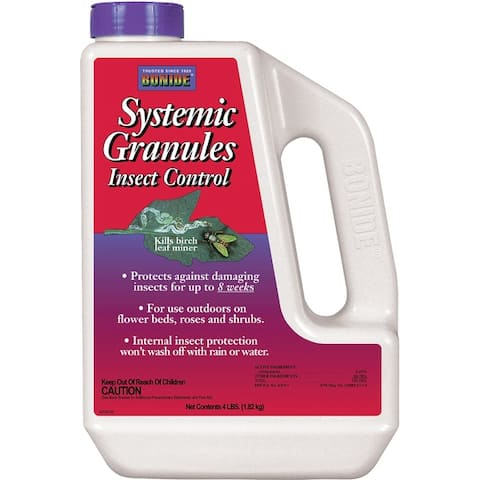 Bonide 9534 Systemic Granules Insect Control, 4 Lb