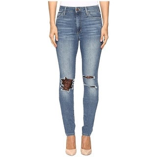 Joe's Jeans The Charlie Lace Trim High Rise Skinny Jeans Pants