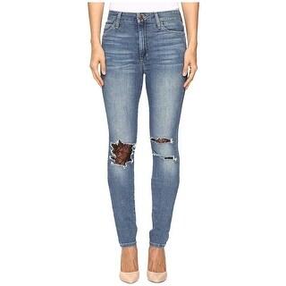 Joe's Jeans The Charlie Lace Trim High Rise Skinny Jeans Pants Brooke