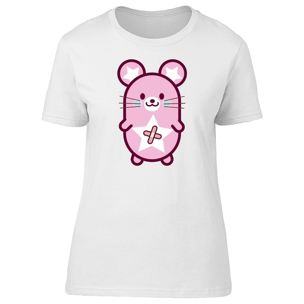 Shop Cute Pink Mouse Toy Tee Women s -Image by Shutterstock - On Sale -  Free Shipping On Orders Over  45 - Overstock.com - 22131834 e5dd23c8bc