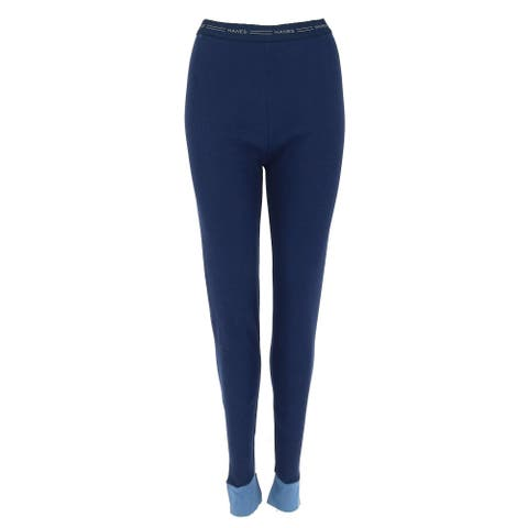 Hanes Women's 2 Color Fusion Thermal Bottoms