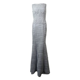 Decode 1.8 Women's Glittered Crochet Sleeveless Dress - 2
