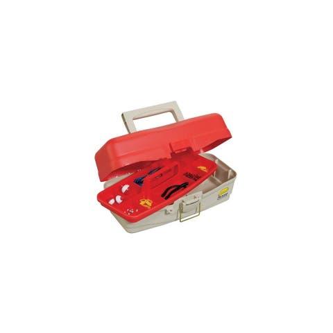 Plano Take Me Fishing Tackle Kit Box - Red/Beige Fishing Tackle Kit Box