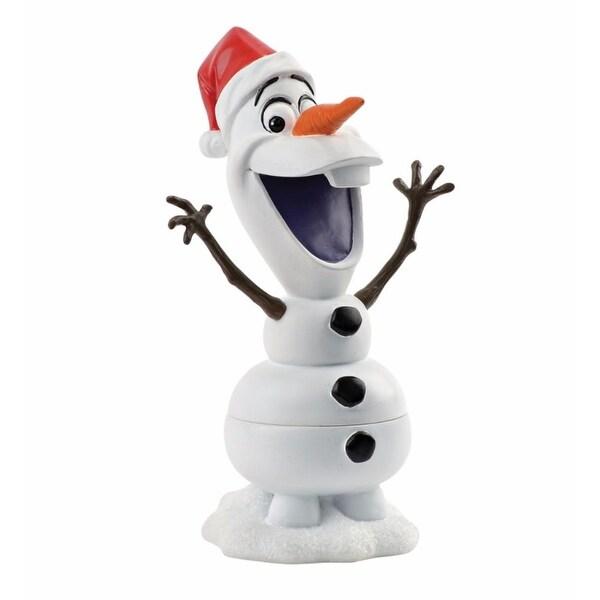 "Department 56 Decorative Disney Frozen ""Olaf"" Figurine Trinket Box #4045051"