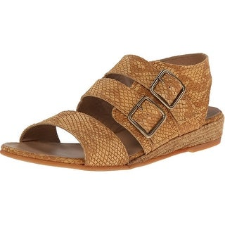 Eric Michael NEW Brown Noriko Shoes 9M Strappy Leather Sandals