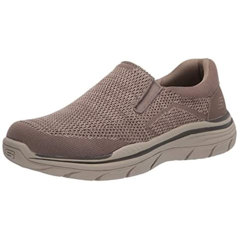 Skechers Men's Relaxed Fit: Expected 2.0 - Arago Loafer, Taupe, 10 WW