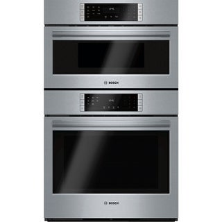 Bosch HBL87M52UC 30 Inch Wide 4.6 Cu. Ft. Electric Built-In Combination Oven with 1.6 Cu. Ft. Microwave and True European