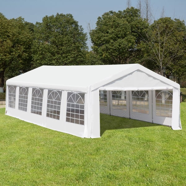 Outsunny White Heavy Duty Party and Event Tent. Opens flyout.