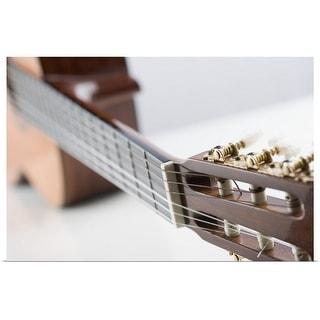 """Close-up of a guitar"" Poster Print"