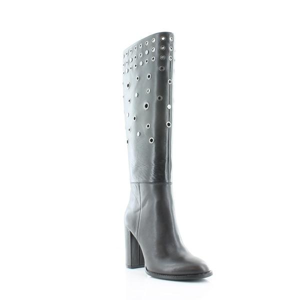 Nine West Quatrina Women's Boots Dk Grey - 6