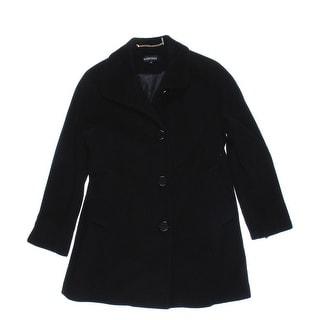 Ellen Tracy Womens Petites Wool Lined Coat - 4P