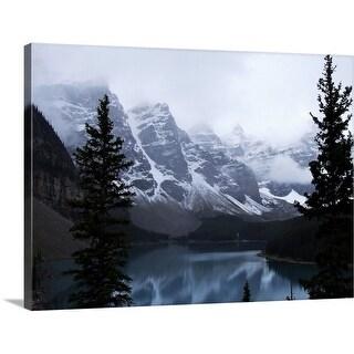 """Misty morning, Canada"" Canvas Wall Art"