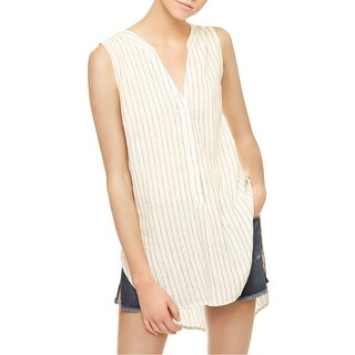 Sanctuary White Ivory Women's Size Small S Striped Tunic Top
