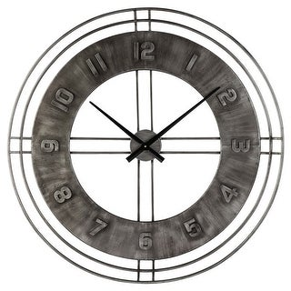 Ana Sofia Wall Clock - Antique Gray A8010068 Ana Sofia Wall Clock