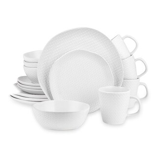 Link to Stone Lain Stoneware Round Weave Dinnerware Set Similar Items in Dinnerware