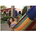 Sunnydaze Multi-Colored Mayan Hammock - Thumbnail 7