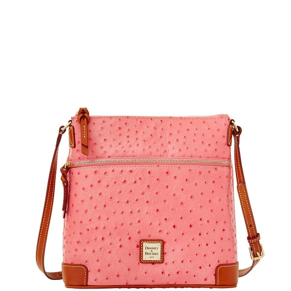 Dooney & Bourke Ostrich Embossed Leather Crossbody (Introduced by Dooney & Bourke at $198 in Dec 2014)