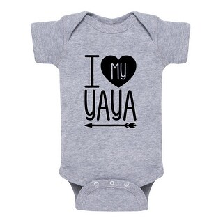 I Heart My Yaya - Infant One Piece
