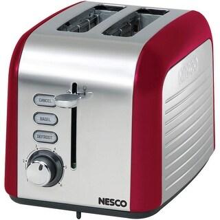 Nesco T1000-12 2-Slice Toaster, Red