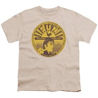 Sun Elvis Full Sun Label Big Boys Youth Shirt