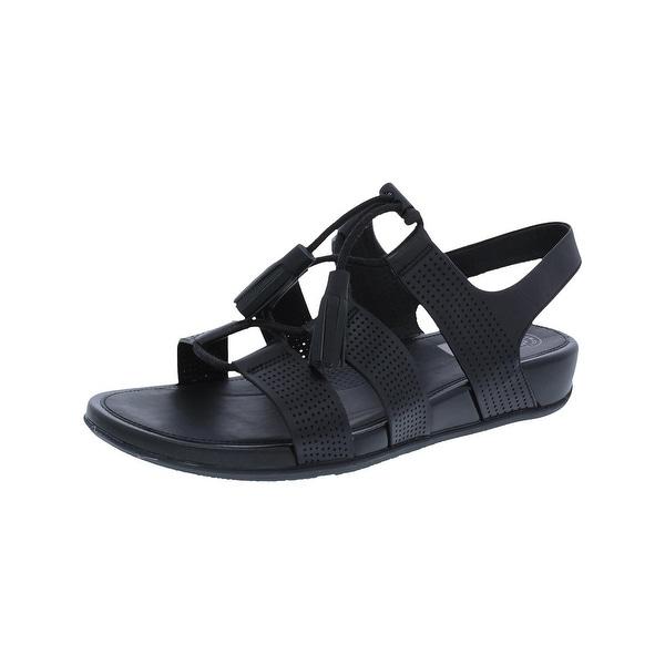 6b718f776f2b Fitflop Womens Gladdie Gladiator Sandals Ghillie Open Toe - 8 medium ...