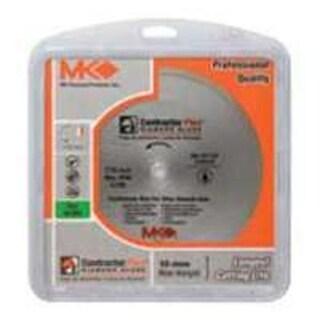 "MK Diamond 167006 Contractor Plus Wet Tile Saw Blade, 4"""