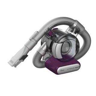 Black & Decker Hfvb320j27 Eggplant Lithium Flex 2 Ah Hand Vacuum