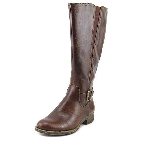 Kim Rogers React Wide Calf Women Whiskey Boots