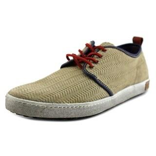 Blackstone Mouton Men Round Toe Leather Sneakers