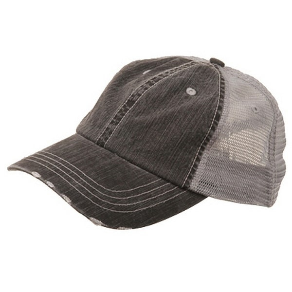 Shop Low Profile Special Cotton Mesh Cap-Black W40S62B - Ships To ... 9fec48a17602