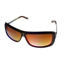 Angel Womens Sunglass Skyler Blue on Red Sunglass, Brown Gradient Lens - Medium