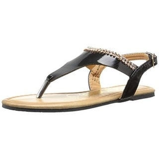 Kensie Girl Girls Thong Sandals Patent