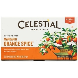 Celestial Seasonings Mandarin Orange Spice Tea Bags 20 ea