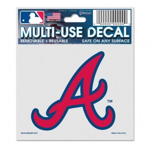 Atlanta Braves Decal 3x4 Multi Use