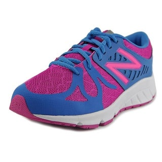New Balance KJRUS Round Toe Synthetic Running Shoe