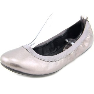 Kenneth Cole Reaction Whole Some Women Round Toe Leather Bronze Ballet Flats