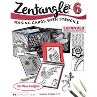Design Originals Zentangle 6, Expanded Workbook Edition