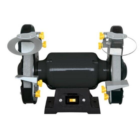 "Steelgrip SBG-150A Bench Grinder, 2 LED, 450 RPM, 6"" Wheels"