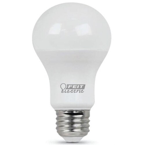 Feit Electric A800/827/10KLED Non-Dimmable LED Bulb, 60 Watts, 800 Lumens