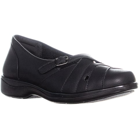 Easy Street Sync Loafers Flats, Black