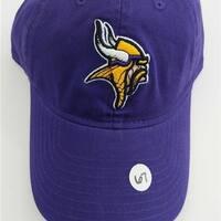 9964d8a5cefea2 Sale: $14.62. Minnesota Vikings Mens Adult Size OSFA NFL Adjustable Cap Hat