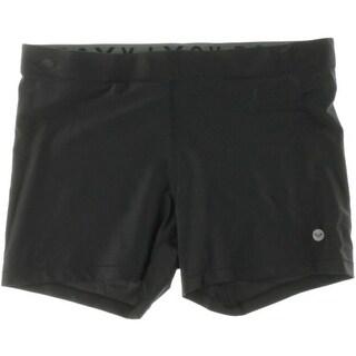 Roxy Womens Spandex Elastic Waist Athletic Shorts