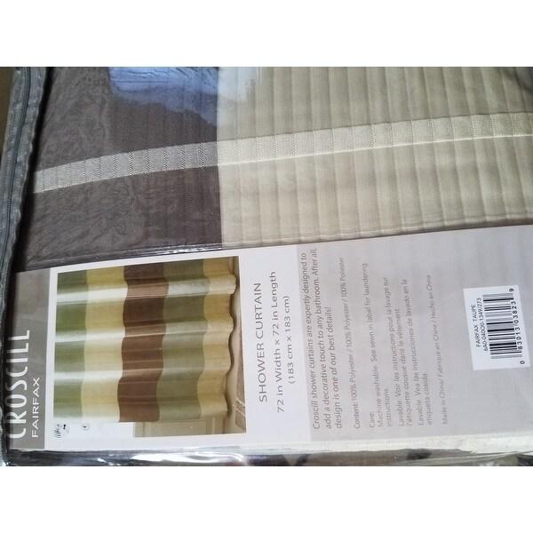 Shop Croscill Fairfax Shower Curtain