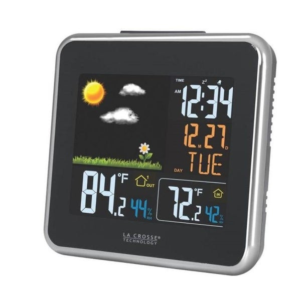 La Crosse Technology 308-146 Forecast Station With Color Display, Wireless