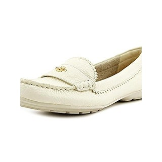 Coach Womens Odette Fashion Loafers Pebble Round Toe