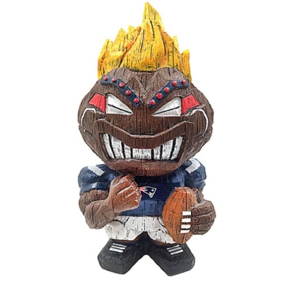 New England Patriots Tiki Character 8 Inch - Multi-Color. Opens flyout.