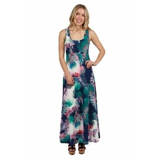 24seven Comfort Apparel Alix Maxi Dress