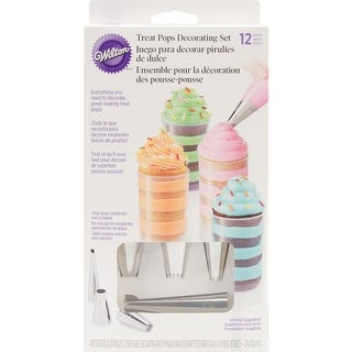 Treat Pops Decorating Kit 12Pcs-