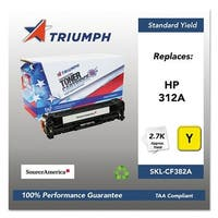 Triumph Remanufactured 312A Toner Cartridge - Yellow Toner Cartridge